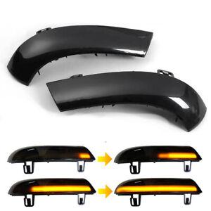 Dynamic LED Turn Signal Light Indicator Mirror for VW Golf 5 Jetta MK5 Passat B6