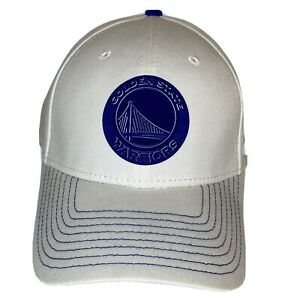New Era 39Thirty NBA Basketball Golden State Warriors Fitted Hat Curve Bill S/M