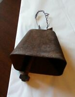 Antique Vintage Cow Bell Farm Dairy Primitive Tool Wind Chime Hand Made