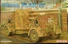 Dragon 1/35 WWII German 88mm Flak 37 anti-aircraft Gun