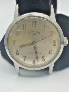 Vintage Lord Elgin Men's Watch