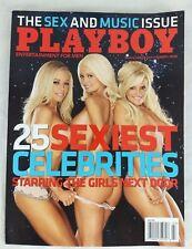 PLAYBOY MAGAZINE ISSUE MARCH 2008 Girls Next Door Sexy Celebrities Ida Ljungvist