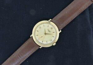 Vintage 23Z Longines 17 Jewel Manual Wind Men's Watch 10k Gold Filled L-134