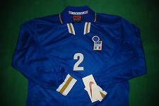 BNWT vintage italia nike match worn player issue euro 96 friendly MALDINI NESTA