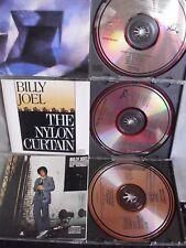 Billy Joel- 52nd Street/ Nylon Curtain/ The Bridge- 3 CDs- Japan- 2x No Barcode