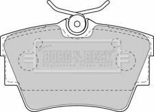 BORG BBP1813 BRAKE PAD SET DISC BRAKE Rear