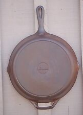 Vintage Lodge 10 SK Cast Iron Fry Pan Skillet Kitchen Cookware Camping Tool USA
