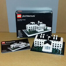 LEGO ARCHITECTURE 21006 - THE WHITE HOUSE - INCLUDES BOX & INSTRUCTIONS