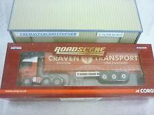 Corgi Roadscene Modern 1:76th Truck Merc Actros Curt Graven Transport CC18206