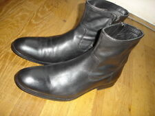 Jules chaussures bottines taille 44 cuir noir  Ref: N36