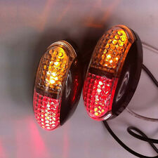 1*LED Light Kit Trailer Truck Tail Turn Stop Boat Light Side Marker Double Color