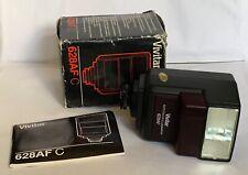 Vivitar 628 AF C Flash for Canon Film Cameras EOS 620 & 650