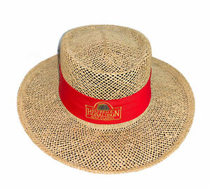 FDNY Alfred E. Ronaldson Golf Classic Yupoong Vintage Straw Hat
