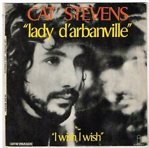"CAT STEVENS     Lady D'Arbanville   7"" 45 tours  SP"