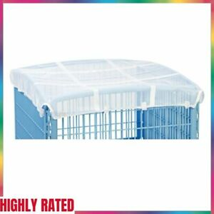 MESH ROOF COVER fits Exercise 4-Panel Pet Playpen with Door White IRIS USA INC