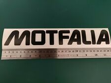MOTFALIA Westy logo - VW/T3/Camper/Car/Van/Fridge/Laptop Vinyl Decal Sticker