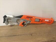 Nerf accustrike alphahawk blaster gun used outdoor toy