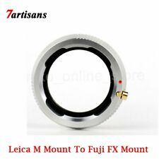 7artisans Lens Adapter Conversion for Leica M-Mount Lens to Fuji FX X-T1 T10 T20