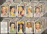GALLAHER-FULL SET- MY FAVOURITE PART - FILMS MOVIES (48 CARDS) - EXC