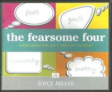 THE FEARSOME FOUR Fear, Guilt, Insecurity & Worry        4 CDs   Joyce Meyer