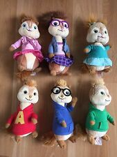 Ty Beanie bab Alvin Chipmunks Chipettes Simon Theodore Brittany Eleanor Jeanette