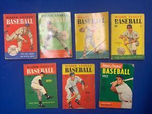Major League Baseball Facts & Figures (7) 1946 - 52