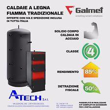 Caldaia a legna biomassa 15 kW Galmet GT KW detrazione 50