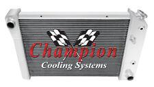 3 Row Performance Champion Radiator for 1971 - 1977 Chevrolet Vega V8 Swap