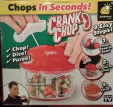 N Crank Chop ORIGINAL Food Manual Chopper - Chop, Mince, And Puree As Seen On TV
