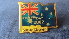 Australia Day Pin Sunday Telegraph 2002