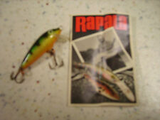 RAPALA ORIGINAL F-3 P_ESCHE ARTIFICIALI- FLOATING 3cm/2g PERCH PERSICO