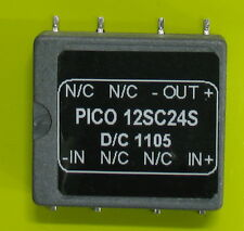 12SC24S Pico Electronics, Unregulated DC-DC Converter Module