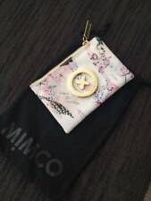Mimco coin purse - pink and white, as new