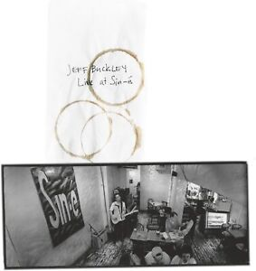 Jeff Buckley, Live at Sin-e, Numbered 4 Vinyl Limited Edition Set (Ex Display)