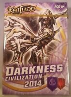 NEW KAIJUDO DARKNESS 2014 CIVILIZATION READY TO PLAY 40 CARD DECK & QUICK GUIDE!