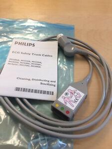 Philips M1510A EKG-Stammkabel 3 Ableitungen 12poliger Stecker 454110296041