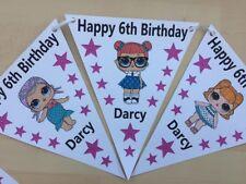 XL Handmade Personalised LoL  bunting/ party decoration/ birthday