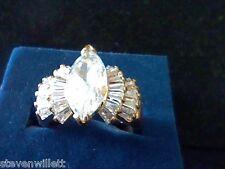 3.00CTW MARQ LCS DIAMOND ENGAGEMENT WEDDING RING SZ 5 SZ 6 SZ 7 SZ 8 SZ 9 SZ 10