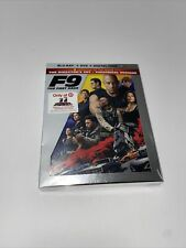 New listing F9, The Fast Saga BluRay+Dvd+ Digital Code Sealed New Target With Art Cards