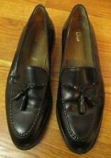 Men's Christian Dior Shoes Black dress slip on loafer 12