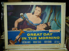 GREAT DAY IN THE MORNING, orig 1956 LC #4 (Ruth Roman, Robert Stack)