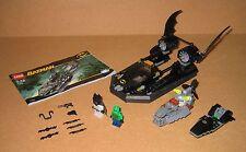 7780 LEGO Batman Batboat Hunt Killer Croc 100% Complete Instruction EX COND 2006