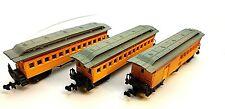 N Bachmann Union Pacific 1860 Old Time 3 Car Passenger Set (no box) LNWB