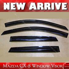 Mazda CX-5 CX5 2012-2017 Window Visor Sun Rain Guard Weather Shield Deflector