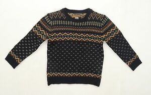 Blackwood Boys Blue  Knit Pullover Jumper Size 5-6 Years