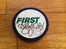 vintage Philadelphia Phantoms hockey puck Sean O'Brien autograph signature Rare