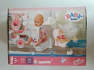 Baby Born Puppen Toilette »Bath«, mit Sound