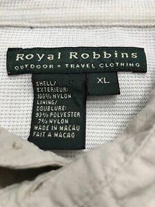 Royal Robbins Outdoor Travel Clothing Fishing Shirt Size XL