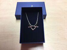 SWAROVSKI Black & Clear Crystal Delicate Small 'Best' Collar Style Necklace BNIB