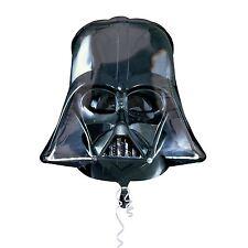 "Huge 25"" Darth Vader Helmet Star Wars Foil Balloon Birthday Party Decoration"